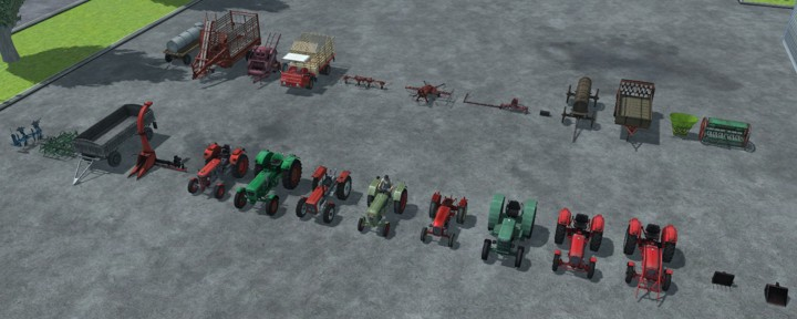 (LS 2013) (MR) Oldtimer Farming Classic Pack by Satis