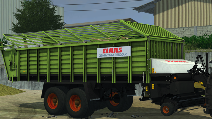 (LS 2013) MR Claas Quantum 3800k